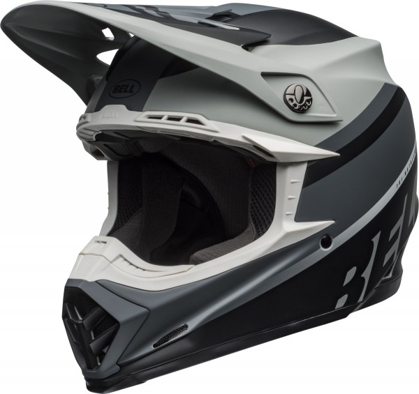 BELL Moto-9 Mips Helm Prophecy Matte Gray/Black/White 2020