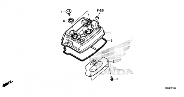 E-1 Zylinderkopfdeckel