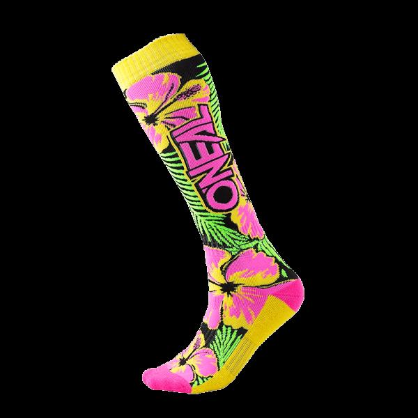 Pro MX Sock ISLAND pink/green/yellow (One Size) 2020