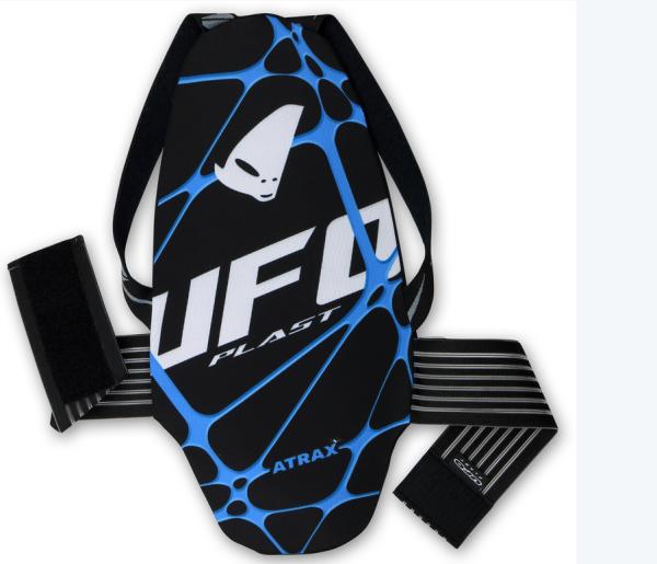 UFO Atrax Rückenprotektor Schwarz