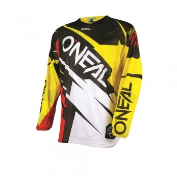 Jersey Oneal Hardwear Flow Jag Yellow / Red Größe: L