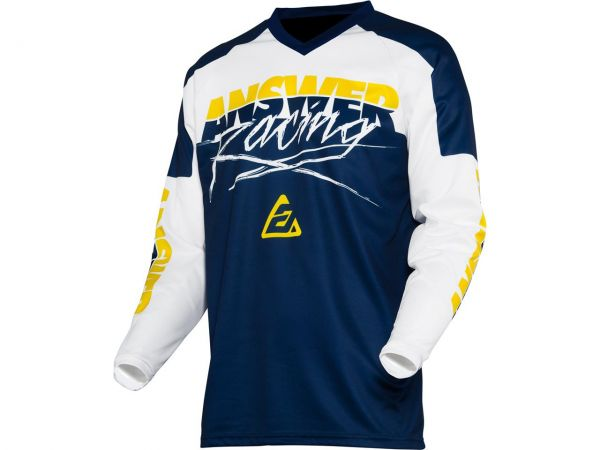 ANSWER Syncron Pro Glow Junior Jersey 2021