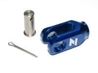 ZAP Einsteller Hinterradbremse blau Kawasaki KX(F) M8