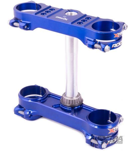 Xtrig ROCS tech Gabelbrücke Sherco 14-20 offset 22 - Blau