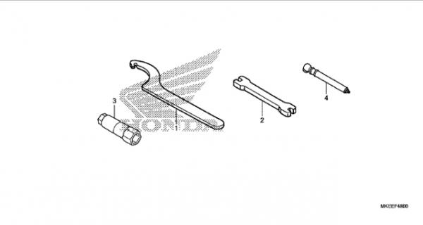 F-48 Werkzeuge (CRF 450RL BJ2020)